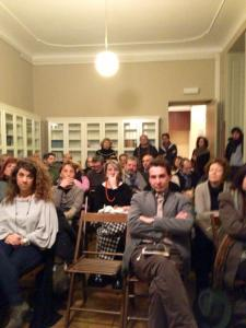 L'affollata sala Roccati.