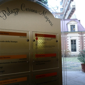 Ordine dei giornalisti del Piemonte, assemblea di bilancio domenica 26 marzo a Palazzo CerianaMayneri