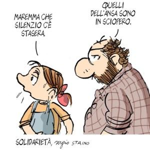 Sergio Staino solo per Ansa.it