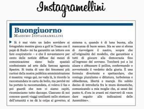 Spopola sul web il generatore automatico del Buongiorno di Gramellini. E' Instagramellini: parole casuali, politica, moralismo piccolo borghese,retorica