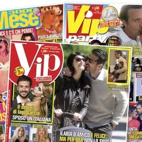 Da oggi è in edicola Vip Party (European Network). Ma Confidenze  (Mondadori) aveva un altro stile. Nostalgia anniOttanta