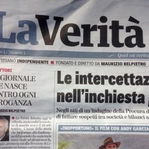 """La Verità di Belpietro: """"E' Renzi che mi ha estromesso da direttore diLibero"""""""