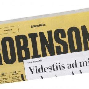 Domenica sbarca Robinson. Il concorrente de La Lettura firmato Repubblica. Inserto di 40pagine
