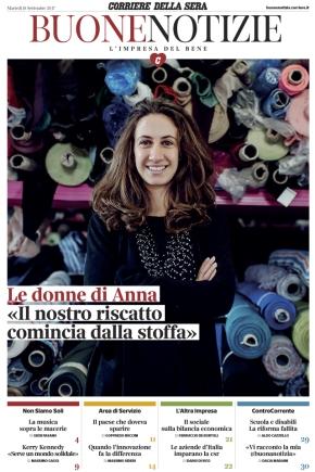 """Le """"buone notizie"""" del Corriere della Sera. Un nuovo magazine settimanale in edicola da martedìprossimo"""