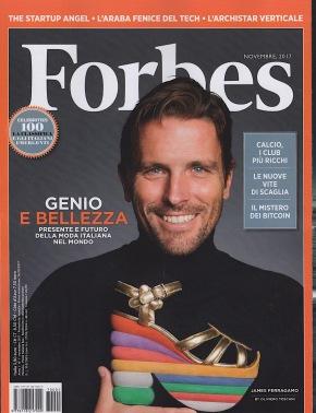 E' in edicola l'ottimistico Forbes Italia, 1.200 giornalisti nelmondo