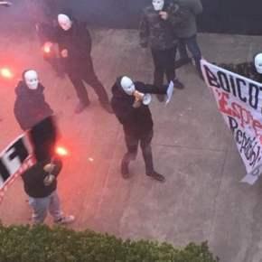 Commando di fascistelli a volto coperto prende di mira Repubblica. Al Viminale riunione del Comitato per la sicurezza deigiornalisti