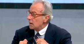 """Vittorio Feltri a Mario Calabresi: """"Coraggio collega, più che la direzione ti mancherà lo stipendio"""""""