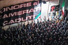 Fascisti e carogne, sempre gli stessi. Aggrediti a Roma al Verano con calci e schiaffi due giornalisti dell'Espresso. Hallo, ministro dell'Interno?