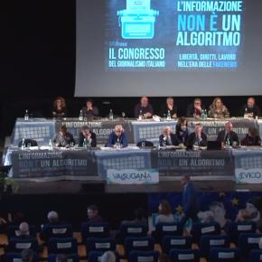 Lorusso e Giulietti riconfermati ai vertici di Fnsi. Il governo diserta il congresso sindacale deigiornalisti
