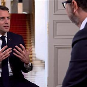 """Fazio intervista Macron. Ha ragione il M5S:  """"giornalista"""" non significa più nulla. La Rai ci ha giàrinunciato"""