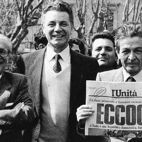 Domani l'Unità torna in edicola. Direttore responsabile: Maurizio Belpietro. E non èLercio