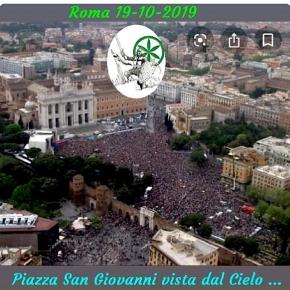 Figuraccia Lega, la foto di piazza San Giovanni stracolma è unfalso