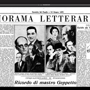 """Pubblicato in versione online il """"Diorama Letterario"""", storico inserto culturale della Gazzetta delPopolo"""