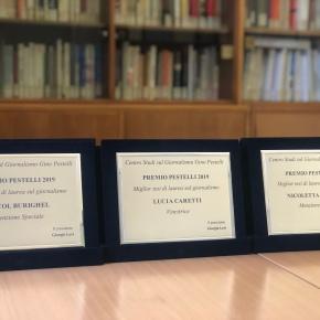 Premio Pestelli V Edizione, lunedì 17 febbraio al Circolo dellaStampa