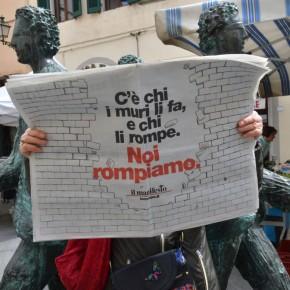 Il manifesto abbassa il muro. Il giornale online gratis, senzapubblicità