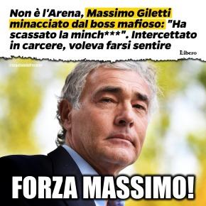 """La mafia su Giletti: """"Ha scassato la minchia"""". Lui: """"Avrei voluto saperlo prima che uscisse suigiornali"""""""