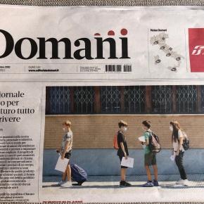 """Feltri, direttore di Domani: """"Abbiamo scelto di dipendere dai lettori per essere liberi, senza condizionamenti"""". Quasi come Montanelli nel'74"""