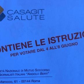 Elezioni Casagit dal 4 all'8 giugno. Come si vota per via telematica. A chi dare le preferenze inPiemonte